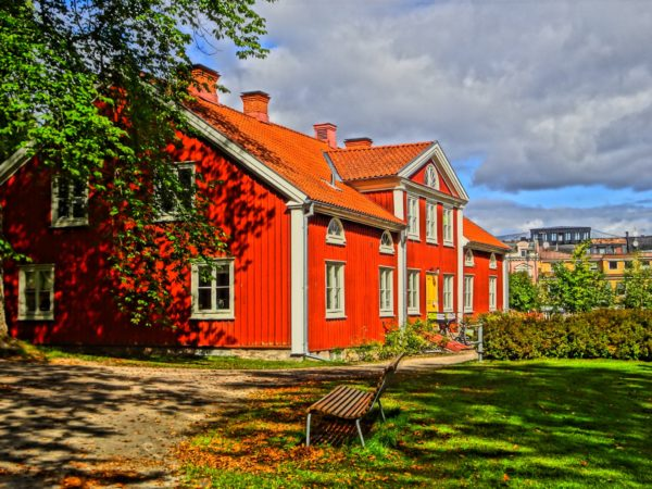 A house near the Emigration Museum in Smaland, Sweden from the outside_Copyright by Sonja Irani : RevisitEurope.com