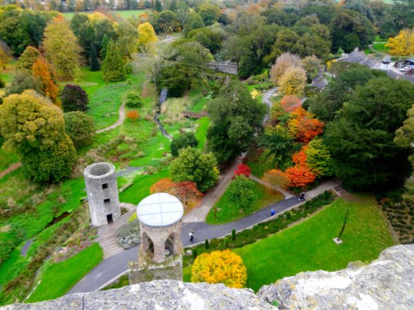 Fall colors at Blarney Castle_Photo Copyright by Sonja Irani