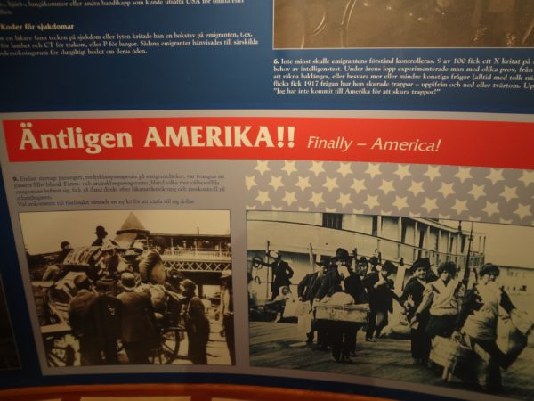 Inside the Emigration Museum in Smaland, Sweden _Copyright by Sonja Irani : RevisitEurope.com