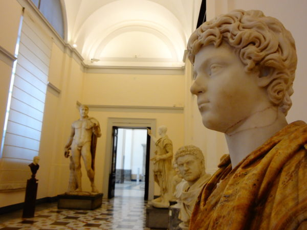 Inside the National Archaeological Museum_Naples, Italy 4