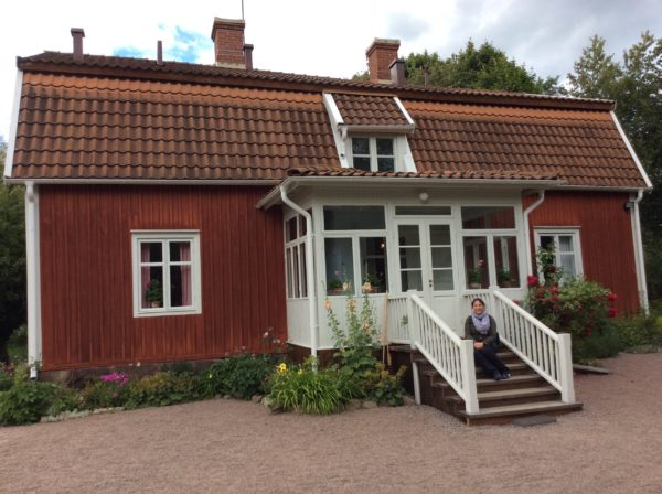 Me at Astrid Lindgren House in Näs_Copyright by Sonja Irani : RevisitEurope.com