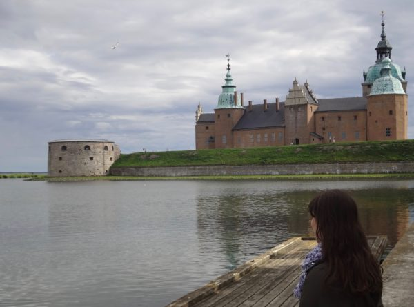 Watching the sunset at Kalmar Castle_Copyright by Sonja Irani / RevisitEurope.com