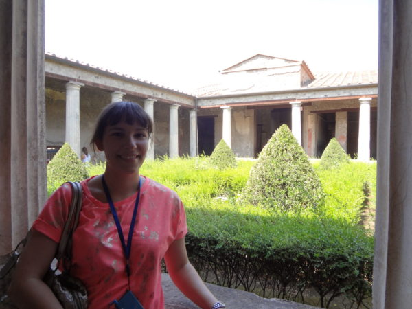 Me in Pompeii, Italy. Photo Copyright by Sonja Irani | RevisitEurope.com