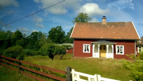 Passing by a house in Smaland, Sweden_Copyright by Sonja Irani : RevisitEurope.com