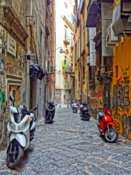 Scooters in Naples, Italy. Photo Copyright by Sonja Irani | RevisitEurope.com
