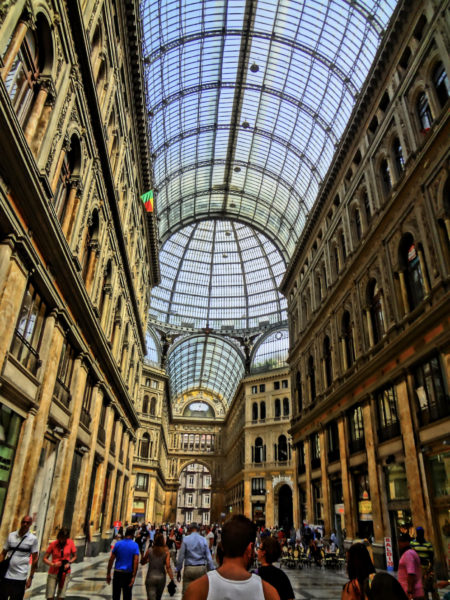 Shopping arcade in Naples. Photo Copyright by Sonja Irani | RevisitEurope.com