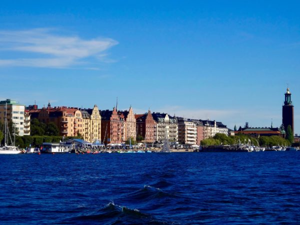 Stockholm view from the water